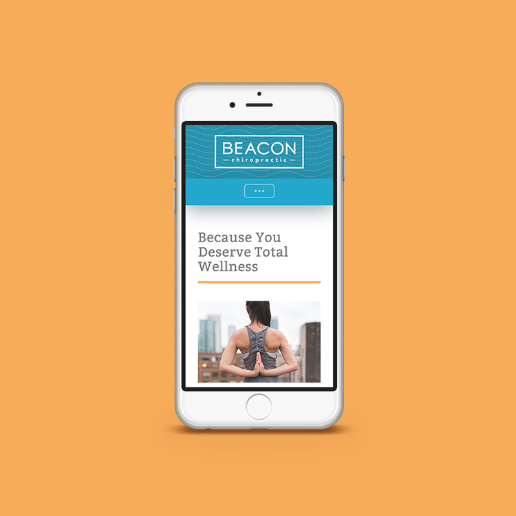 Beacon Chiropractic: Mobile Website Design