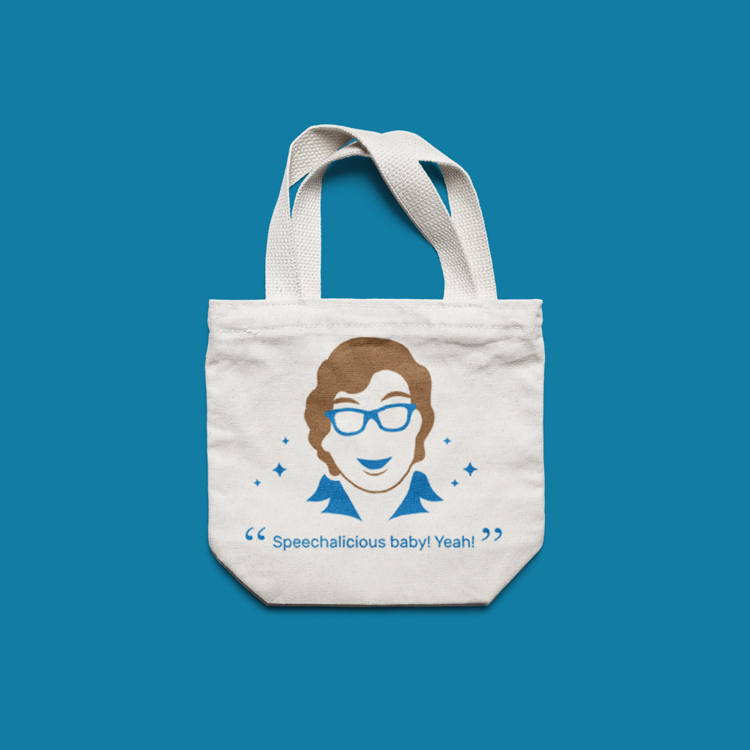 Invo Health: Vector Illustration on Tote Bag