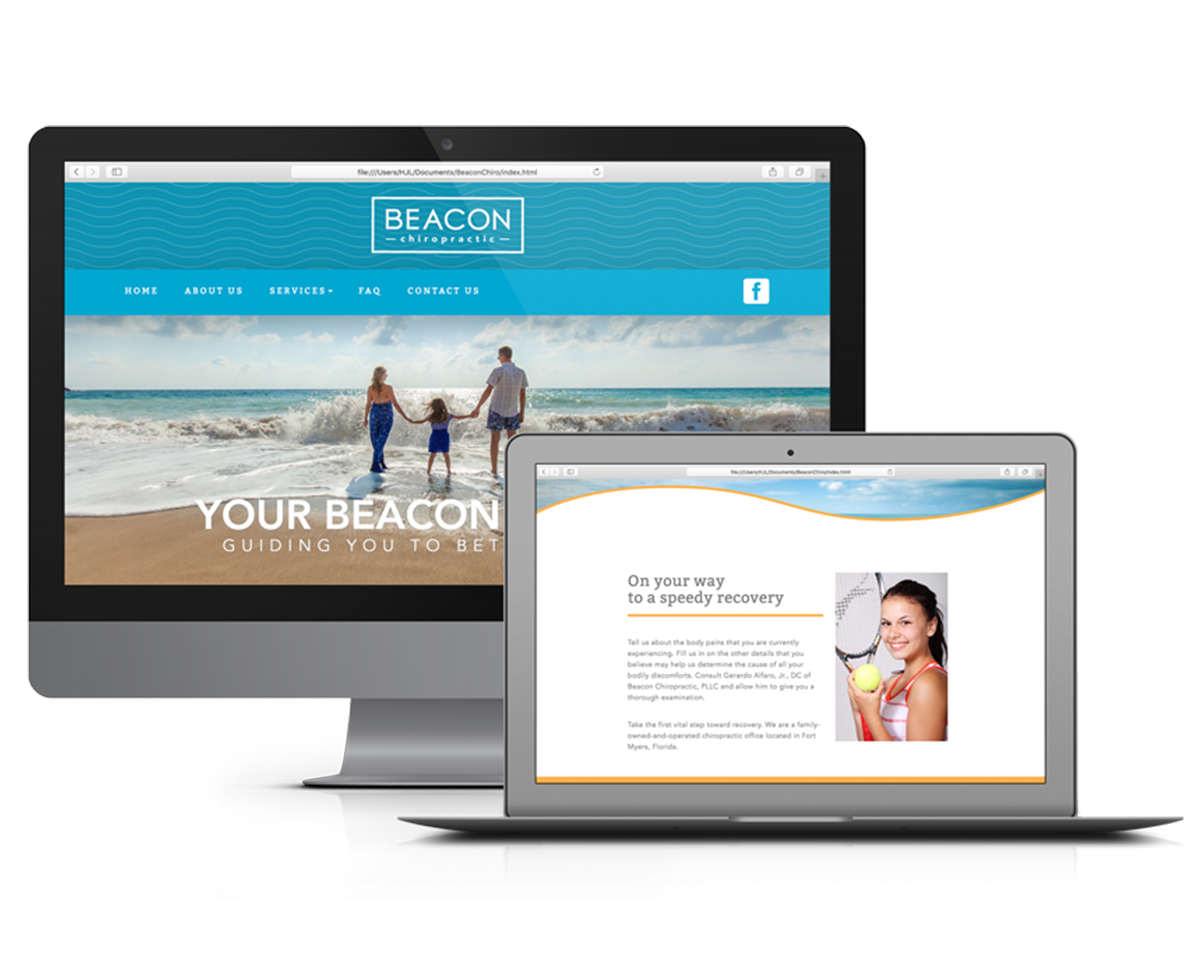 Beacon Chiropractic: Website Design