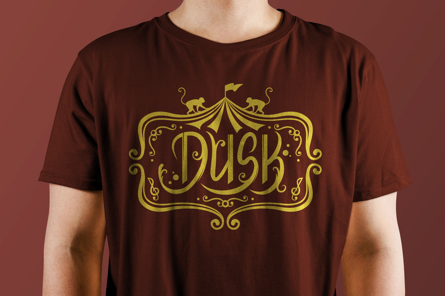 Dusk: Rock Band T-Shirt Design