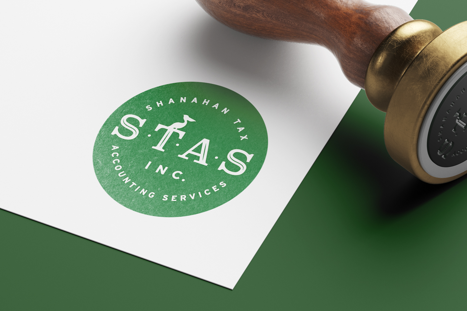 Shanahan Tax Accounting Services: Logo Design
