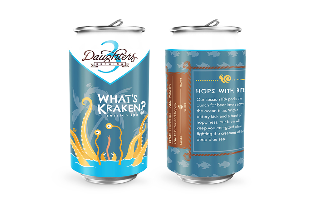 Tall Tale Trio: Beer Can Design, What's Kraken?